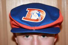 4a915391 Vtg DENVER BRONCOS 1960S OLD LOGO RARE NFL HAT CAP NEWSPAPER BOY Snapback