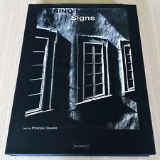 NINO MIGLIORI - SIGNS - Italian Photographer - Monography - Philippe Daverio  HC
