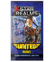 Heroes Star Realms United 12 Card Booster #4 White Wizard Games WWG 018 Game
