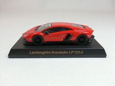 1:64 OEM Lamborghini Aventador LP720-4 50th Anniversario Red Dealer Event Model