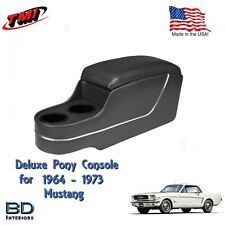 Deluxe Pony Console Black, for 1964 to 1973 Ford Mustang Made in USA by TMI