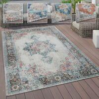 In- und Outdoor-Teppich, Kurzflor Mit Orient Design In versch. Farben und Größen