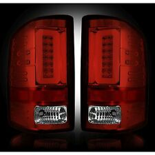 RECON 264298RD Chevy Silverado 16-17 1500 2500 3500 Red Tail Lights LED