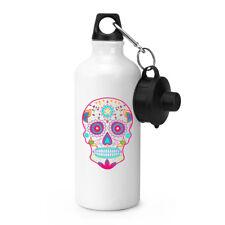 Colourful Sugar Skull Sports Drinks Water Bottle