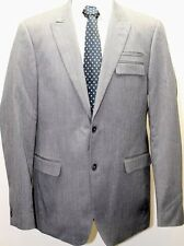 Classic MEXX Gray Men Blazer 2 Buttons Lined Slim Fit Sz 44 Sports Coat