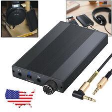 Headphone Amplifier Portable Amp 3.5mm Support Headphone High Impedance 16-500Ω
