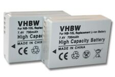 Original VHBW ® batería 1010mah para Canon PowerShot g9x nb-13l