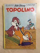 70812 Fumetto Disney - Topolino n. 1168 - Con Bollino + Cedola GM