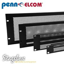 Penn Elcom 1U Perforated Vent Rack Panel