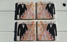 Wedding/Prom/Ball Gown Stone Coasters
