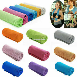 1x Fitness Dry Cooling Sports Towel For Gym Best Workout face Cool Sweat Towels