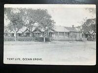 Vintage Postcard>1915>Tent Life>Ocean Grove>New Jersey