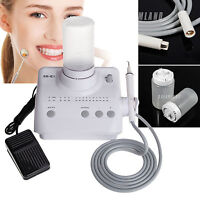 Dental Ablatore Ultrasuoni Ultrasonic Scaler EMS WOODPECKER con punte manipolo O