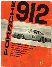 PORSCHE 912 COUPE ( 1965 - 1969 ) MAINTENANCE , TUNE-UP & FAULT DIAGNOSIS MANUAL