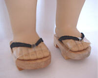 """Doll Clothes 18"""" Sandals Japanese Wooden Fits American Girl Dolls"""