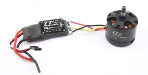 Robotix Controller 8047-G 2-6S 30A + Motor OBLM2814 450KV Max 22oz Schubkraft