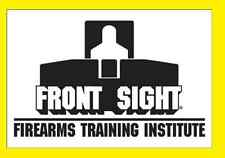 Front Sight 4-Day Handgun/Shotgun/Rifle Training Course Certificate - SALE!!