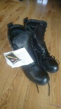 Genuine British Army Goretex Cold / Wet Weather Assault Black Leather Boots NEW