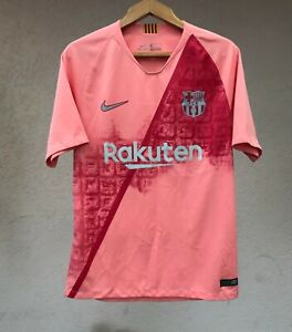 FC BARCELONA SPAIN 2018/2019 THIRD FOOTBALL SOCCER SHIRT JERSEY CAMISETA NIKE