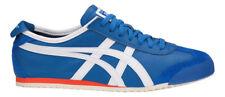 Asics Onitsuka Tiger Messico 66 Scarpe Retrò Sneaker Bianco Blu D4j2l-4201 EUR 42