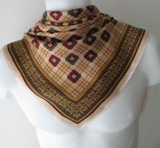 Unbranded Satin Original Geometric Vintage Scarves & Shawls