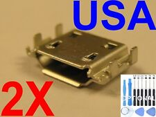 2 X Micro USB Charging Port Charger for Samsung Galaxy S II 4G Epic SPH-D710 USA