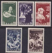 1951 Saarland/ Sarre, N°296/300 5 Values MNH