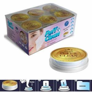 Pufai Puff Clean  Makeup Remover Wipes Capsules 24 Capsules 1 Box