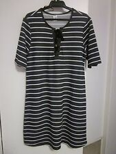 BEAUTIFUL STRIPED DRESS ,NEW WITH TAGS BY NOW SIZE 12