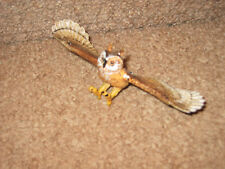 Jouet oiseau ailes en Volant Hibou Jouer Figure idéal mobile oiseau amant cake topper