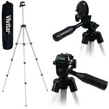 "Light 50"" Vivitar Tripod For Panasonic Lumix DMC-ZS20 DMC-XS1 DMC-FH10 DMC-F5"