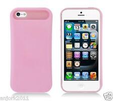 Apple iPhone 5 Hybrid Back Cover Skin Case Pastel Glow in Dark Baby Pink