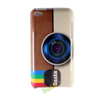 Instagram Camera Hard Case Cover for Apple iPod Touch 4 gen 4th generation G4 4G