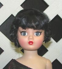 "Doll Wig Size 5/6 Monique Synthetic Mohair ""Clarissa"" in Off Black - SALE!"