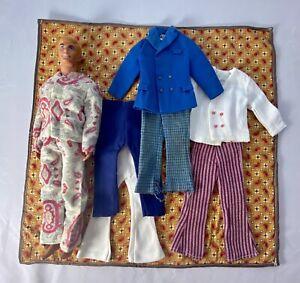 Vintage Malibu Ken Lot + Clothes & Pajamas SO NICE!