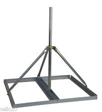 "Non-Penetrating Antenna Mast Roof Mount with 1.66"" x 30"" Mast - EZ NP-30-166"