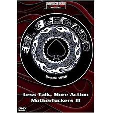 EL LEGADO Less Talk More Action Motherfuckers (2xDVD) . stooges cosmic psychos