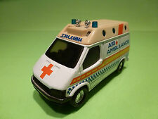 MATCHBOX FORD TRANSIT - AIR AMBULANCE  - RARE SELTEN - GOOD CONDITION
