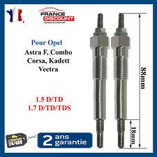 Bougie de préchauffage pour OPEL Astra F Corsa Combo Vectra 1,7 1,7l 1,5 D TD