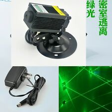 12V 100mW 532nm Dot Green Laser Diode Module Locator Room Escape Lights 33x55mm