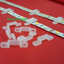 100PCS 12mm Silicon Clip for Fixing 5630 5050 RGB & Single Color LED Strip