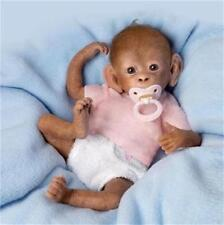 Ashton Drake So Truly Real Coco Lifelike Baby Monkey Doll