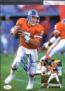JSA John Elway Autographed Signed Beckett Price Guide Magazine Broncos TRB 228