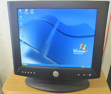 "Dell UltraSharp 17"" Black Flat Panel LCD Monitor 1702FP + Adapter/VGA/Power Cord"