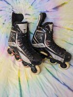 Tour Code 800 Inline Roller Hockey Blades Skates Size 7 Elite Aluminum Series