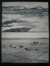 2 Iona Scottish Islands Postcards Iona Village & Iona Abbey