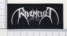 Ravencult_01 embroidered patch, thermal glue on the back