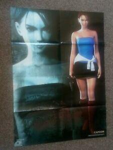 Resident Evil 3 Nemesis /Jill Valentine Large Poster *Rare*