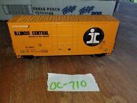 ILLINOIS CENTRAL HIGH CUBE FREIGHT CAR, #16471, HO SCALE, oc710