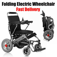 Folding Electric Wheelchair Lightweight Power Medical Mobility Aid Motorized US